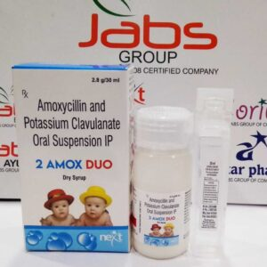 2 amox duo - AMOXYCILLIN, POTASSIUM CLAVULANATE ORAL SUSPENSION