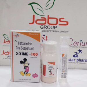 2 xime 100 dry - CEFIXIME & LACTIC ACID BACILLUS FOR ORAL SUSPENSION. (DRY SYRUP)